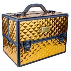 Професионален куфар за грим Gold Rhomb