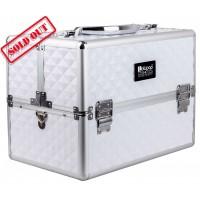 Професионален куфар за грим White Rhomb