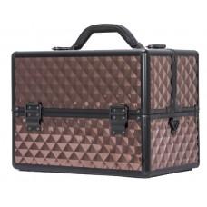Професионален куфар за грим Bronze Rhomb