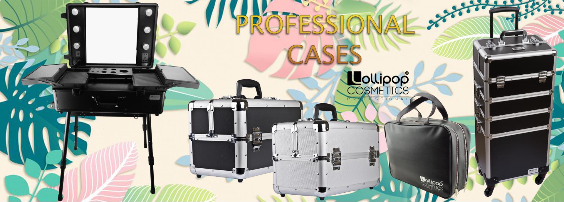 професионални куфари за козметика, грим, фризьори