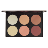 6 COLORS CONTOUR & BLUSH PALETTE #1