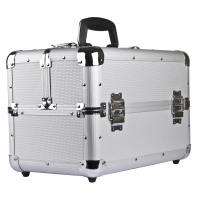 PROFESSIONAL MAKEUP CASE SILVER
